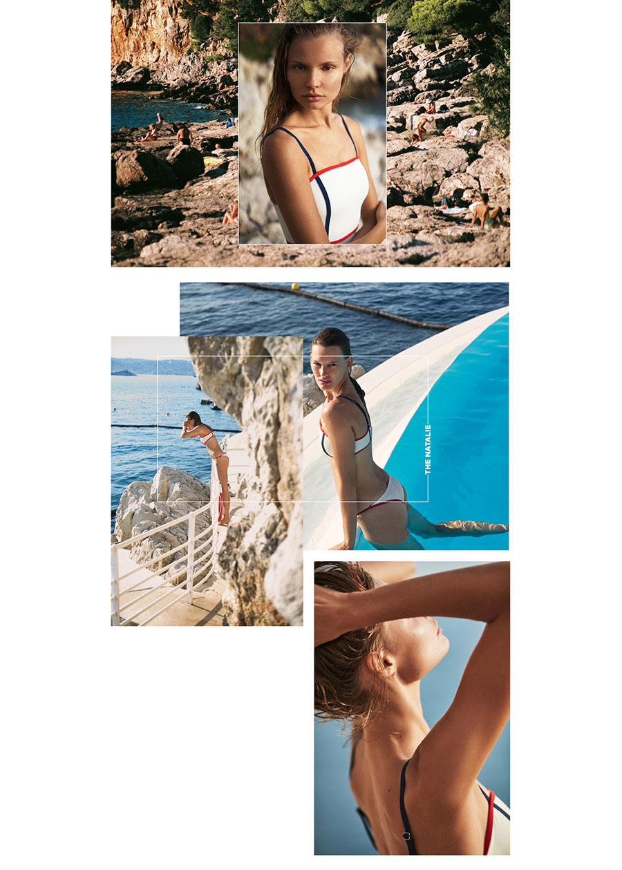 Djuna Bel, Giant Artists, Stylist, Solid and Striped, South of France, Vacation, Swim, Swimwear, Fashion