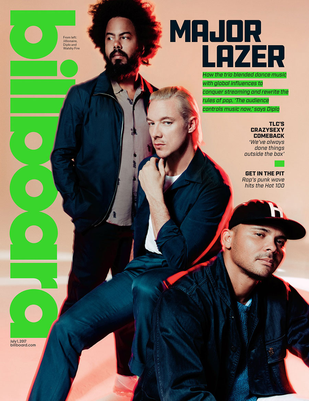 Djuna Bel, Giant Artists, Major Lazer, Billboard Magazine