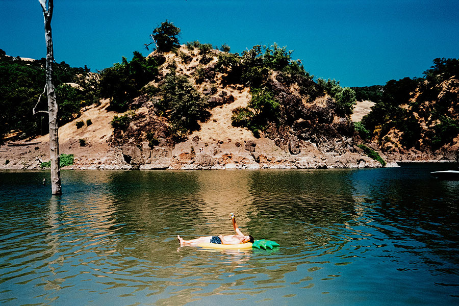 Jake Stangel, Giant Artists, Vacation, Lake Sonoma