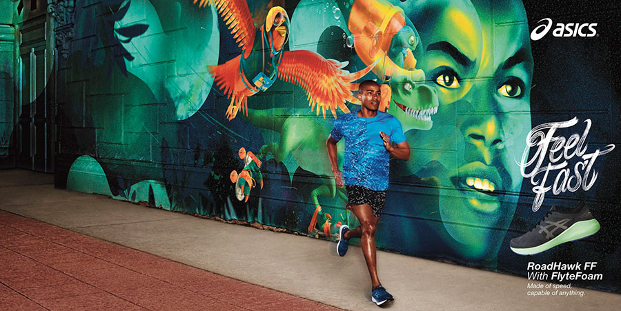 David Black, Asics, Giant Artists, running, fitness