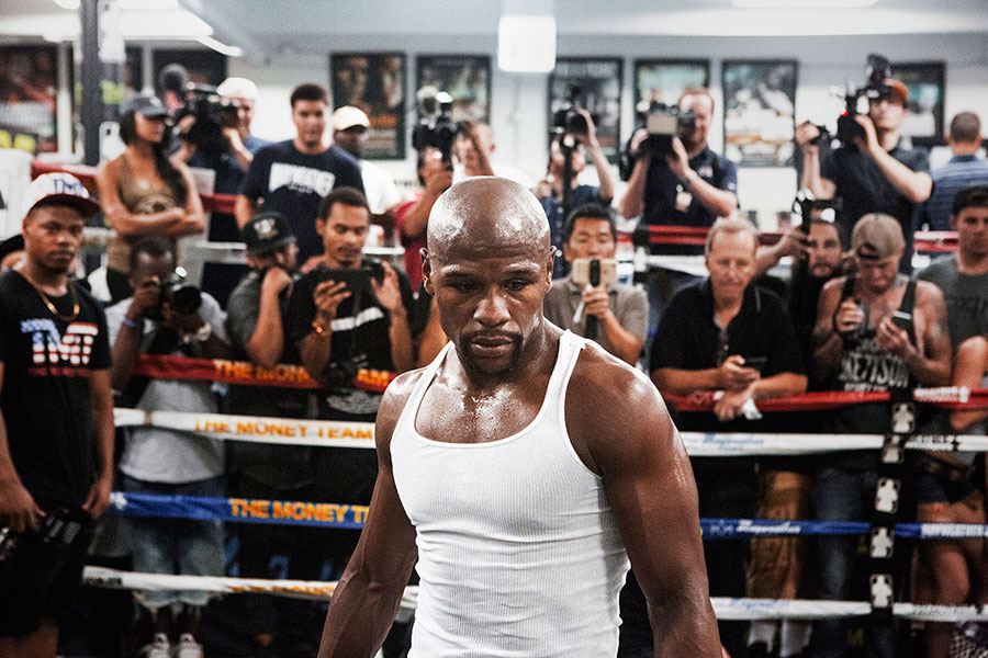 Giant Artists, Christaan Felber, Time, Floyd Mayweather, Boxing, Fighting