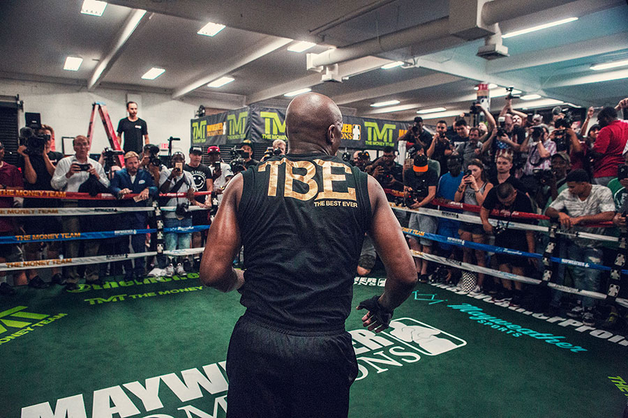 Christaan Felber, Giant Artists, Floyd Mayweather, Time