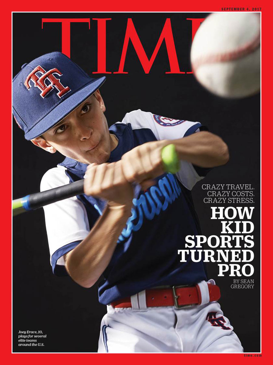 Finlay MacKay, Giant Artists, Time, Time Magazine, Joey Baseball, Youth Sports